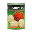 【常温便】タイ産ランブータン缶/AROY-D 紅毛丹565g【16229000530】