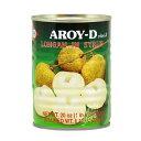 【常温便】タイ産ロンガン缶/AROY-D 糖水龍眼【16229000554】