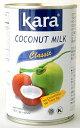 【送料無料】ハラル認証 Kara ココナッツミルク425ml X 24缶(ケース売り、インドネシア産 カラ)業務用