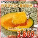 送料無料 熊本県産 クインシーメロン 赤肉 2玉 訳有り 2.5〜3キロ以上 農家直送品 お試し用  02P05Sep15
