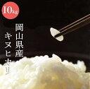 令和2年産 キヌヒカリ白米10kg【岡山県産】【送料無料】