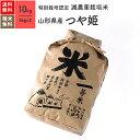 米 10kg つや姫 山形県産 特別栽培米 29年産 送料無料お米 分つき精米 玄米