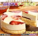 【ふるさと納税】【いわて・久慈 山ぶどうの里から】山ぶどうWチーズケーキ(直径12cm)