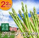 【ふるさと納税】(特選)グリーンアスパラ(大容量2.2kg以上)