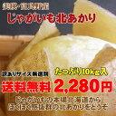 【今だけ送料無料2280円】【訳あり】北海道じゃがいも北あかり(10kg)