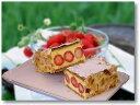 【 いちご の季節限定】 苺 の ミルフィーユ 約22cm×7cm 冷蔵生ケーキ【楽ギフ_包装】