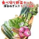 深谷ねぎ入り・食べ切り野菜セット 5〜7品目 送料無料【常温発送/クール便(気温によって配送方法変更)】