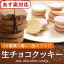 スイーツ ギフト とろける生チョコクッキー6個入「スイーツ ギフト プレゼント 2018 お菓子 チョコレート クッキー 焼き菓子 洋菓子」