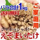 煮汁が黒くなりにくい 【 えぞまいたけ 舞茸バラ 合計1kg 】 ご家庭用 北海道産