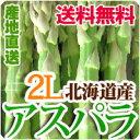 アスパラ 2Lサイズ 1kg 送料無料 北海道産アスパラガス グリーンアスパラ
