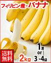 フィリピン産バナナ2kg箱送料無料¥1,980