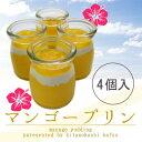 【4個入り】とろける☆特製マンゴープリン!完熟マンゴー使用●夏季限定!【ネット限定】10P20Nov15