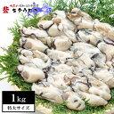 広島産 特大かき 1kg 【同梱推奨】加熱用 牡蠣 カキ お取り寄せ 鍋 海鮮 シーフード 海産物 敬老の日 kaoth