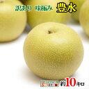 【ご予約受付中】 訳あり 完熟 梨 減農薬 長野県産 10キロ