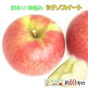10月下旬 シナノスイート 訳あり りんご 減農薬 長野県産 10キロ レビューを書いたら200円クーポン