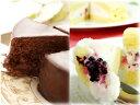 【あす楽】送料無料 チョコレートケーキ ザッハトルテ&フロマージュ・ブラン バースデーケーキ 誕生日ケーキ神戸スイーツ 2020 ギフト 冬スイーツ お返し おしゃれ プチギフト 洋菓子  お菓子 早割バレンタイン