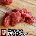 いちごの郷の苺使用 ドライいちご 《300g》苺の甘くておいしい香りがたまりません。 子供に大人気のドライフルーツです。 ドライ苺 ドライイチゴ ドライストロベリー