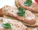 コクのあるツナのような味わいの本格レバーヴルスト レバー嫌いのご婦人やお子様でも召し上がれます レバーペースト レバーパテ