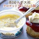 【英国の老舗ロダス社】<お得5個セット>伝統製法による本物の味クロテッドクリーム28g×5個 <お料理やスコーンのお供に>(Roddas ロッダス)