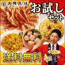 餃子送料無料大阪王将冷凍食品お試しセットギョウザギョーザ炒飯