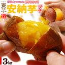 プチ安納芋(3kg)種子島産 安納いも さつまいも さつま芋 蜜 芋 あんのう いも 食品 野菜 きのこ サツマイモ 種子島 小玉 2S 3S 訳あり 安納芋 送料無料