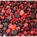 冷凍・ミックス ベリー1kgパック 6種類の完熟ベリーいちご ブラックベリー(桑の実)グリオットチェリー レッドカラント(赤すぐり)ラズベリー(木いちご)ブルーベリー