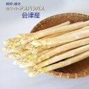 生で食べて美味しいホワイトアスパラガス 会津産 太 1本約40〜50g1Kg箱入り 送料込 2月1日出荷スタート