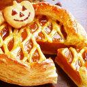 送料無料 ハロウィン手作りパンプキンパイ 6号18cmお届け日は10/28(日)〜10/31(水)よりお選びくださいハロウィン かぼちゃ 人気 かわいい スイーツ イベント パーティー 誕生日ケーキ