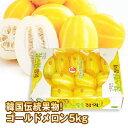 【この夏入荷・季節限定】[冷蔵]『韓国産入荷』とっても甘いっ★チャメ|まくわうり韓国産ゴールドメロン(5kg・約14〜16玉)チャーメ まくわうり マクワウリ 韓国果物 韓国食品スーパーセール ポイントアップ祭