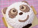 【誕生日ケーキバースデーケーキならこれ!】トップアイドル「パンダのキャラクター」でお子様の思い出に残るパーティー