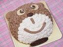 【子供キッズが喜ぶ誕生日ケーキバースデーケーキ記念日ケーキならこれ!】くまちゃんキャラクターで思い出の記念日に