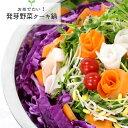 【楽天市場限定】おめでたい! 発芽野菜 ケーキ 鍋(3-4人前キット)