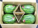 北海道産 マダーボールすいか(秀・約2.5Kg) ×4玉送料無料出荷期間 7月上旬〜8月中旬