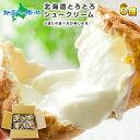 お中元 敬老の日 北海道とろとろシュー6個セット(ミルク) シュークリーム シューアイス プレゼント 贈答品 プチギフト お菓子 洋菓子 スイーツ おかし お取り寄せ プレゼント