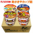 寿がきやカップ麺セット (4種×各2食入)