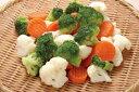 神栄)洋風野菜ミックス 500g(冷凍食品 ブロッコリー カリフラワー 人参 業務用食材 カット野菜 ミックス 業務用)