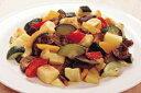 カゴメ)地中海野菜グリルのミックス 600g(冷凍食品 じゃがいも ズッキーニ なす 赤パプリカ 黄パプリカ 業務用 冷凍 カット野菜 ミックス)
