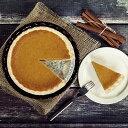 パンプキンパイ(フルサイズ/ホールケーキ 直径約18cm)誕生日に♪かぼちゃのお菓子☆バースデーケーキ-SW025
