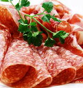 [訳あり] 本場イタリア産 サラミミラノ スライス 200g ヴィラーニ[冷凍便・冷蔵可]