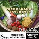 少量お野菜セット旬野菜5種から7種でお届け『プロの料理人が使っているお野菜を自宅で 』