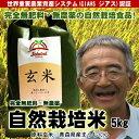 無肥料無農薬米まっしぐら玄米5kg(平成30年度産・青森県産)【送料無料】