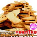 令和記念セール中!豆乳 おからクッキー 訳あり 約100枚1kg (固焼き) プレーン おから 豆乳クッキー【おからクッキー】置き換え ダイエット ギルトフリー