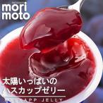 太陽いっぱいのハスカップゼリー もりもと ミニカップ3個入 北海道限定 北海道お土産 ギフト