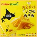 【カルビーポテト 北海道限定】 黄金ポテト インカのめざめ 18g×8袋