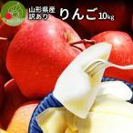 りんご 訳あり 10kg 果物 ふじ 送料無料 山形県産 産地直送 リンゴ サンふじ ご家庭用
