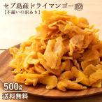ドライマンゴー マンゴー 送料無料 500g 種周り 切り落とし 不揃い 半生 ドライフルーツ 肉厚 セブ島 フィリピン 訳あり