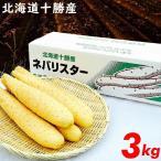2019年度 出荷開始 北海道産 長芋 ネバリスター(3kg) / とろろご飯 野菜 とろろいも 自然薯 大和芋
