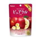 ポイント消化 カバヤ食品 ピュアラルグミ りんご 45g×8入