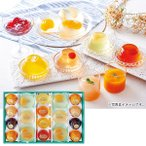 お中元 御中元 焼菓子 ゼリー ギフト 詰め合わせ 送料無料 京都 ラ・バンヴェント フルーツゼリー&焼菓子詰合せ 型番:LBD-45M