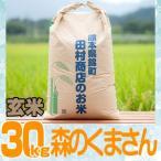 30年産 熊本県産★森のくまさん玄米30kg/精米無料